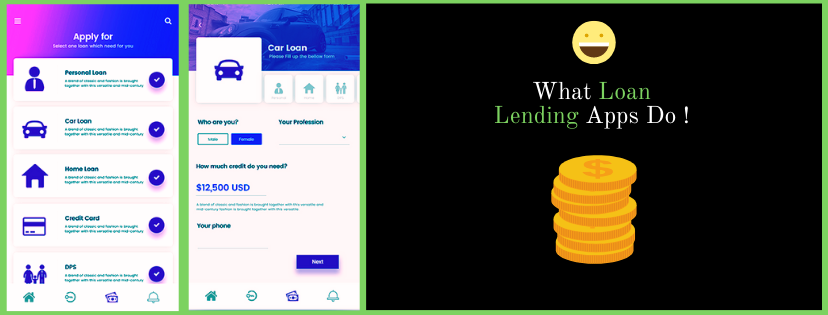 What Loan Lending Apps Do